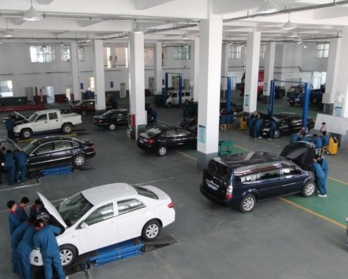 What are the main contents of automobile safety performance testing line?