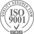 ISO 9001 certified company by TÜV SÜD